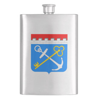 Coat of arms of Leningrad oblast Hip Flask