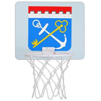 Coat of arms of Leningrad oblast Mini Basketball Hoop