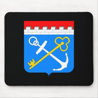 Coat of arms of Leningrad oblast Mouse Pad