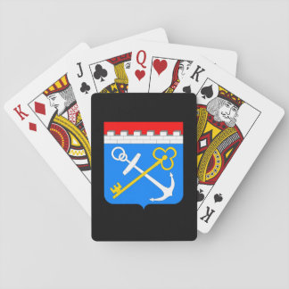 Coat of arms of Leningrad oblast Playing Cards