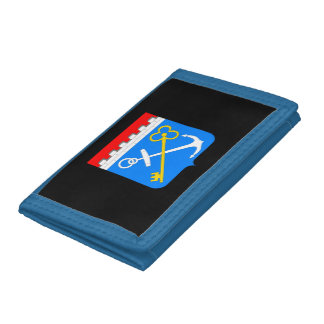 Coat of arms of Leningrad oblast Tri-fold Wallet