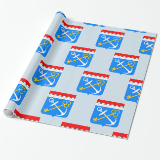 Coat of arms of Leningrad oblast Wrapping Paper