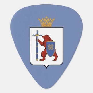 Coat of arms of Mari El Guitar Pick