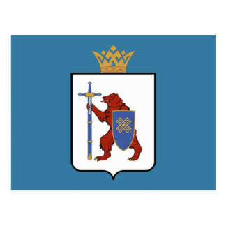 Coat of arms of Mari El Postcard
