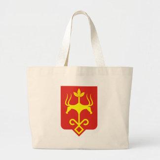 Coat_of_arms_of_Maykop Large Tote Bag