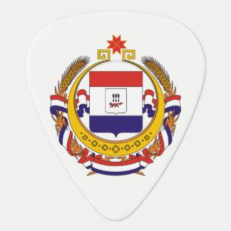 Coat of arms of Mordovia Guitar Pick