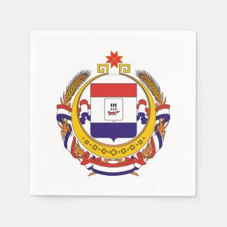 Coat of arms of Mordovia Napkin