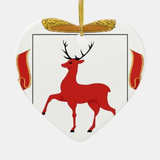 Coat_of_Arms_of_Nizhniy_Novgorod Ceramic Heart Ornament