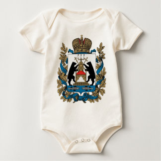 Coat_of_arms_of_Novgorod_Oblast Baby Bodysuit