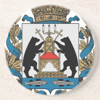 Coat_of_arms_of_Novgorod_Oblast Drink Coasters