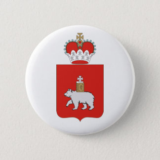 Coat of arms of Perm krai 2 Inch Round Button