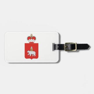 Coat of arms of Perm krai Luggage Tag