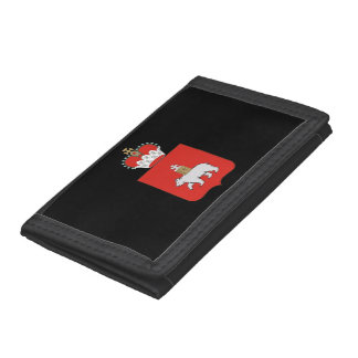 Coat of arms of Perm krai Tri-fold Wallets
