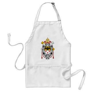 Coat of Arms of Pope Pius XI Standard Apron