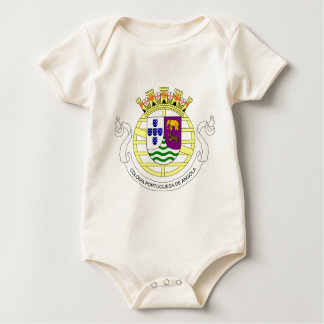 Coat_of_arms_of_Portuguese_West_Africa_(193 Baby Bodysuit