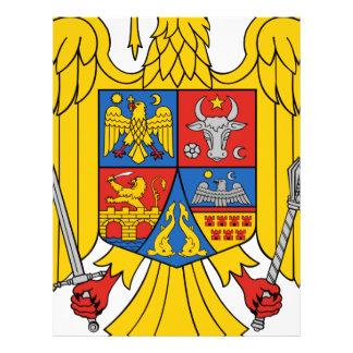 Coat_of_arms_of_Romania_Eagle_(1992-2016) Letterhead Design