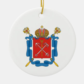 Coat of arms of Saint Petersburg Ceramic Ornament