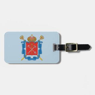 Coat of arms of Saint Petersburg Luggage Tag
