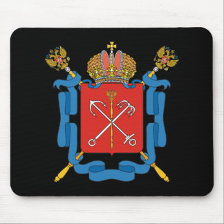 Coat of arms of Saint Petersburg Mouse Pad