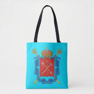Coat of arms of Saint Petersburg Tote Bag