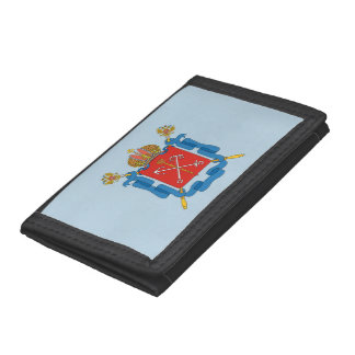 Coat of arms of Saint Petersburg Tri-fold Wallets