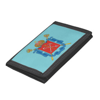 Coat of arms of Saint Petersburg Trifold Wallet
