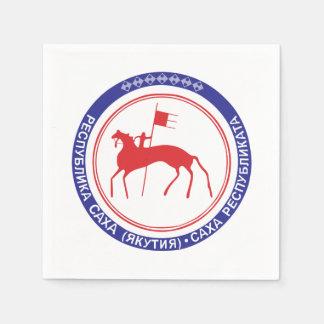 Coat of arms of Sakha Napkin