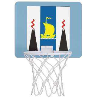 Coat of arms of Sakhalin oblast Mini Basketball Hoop