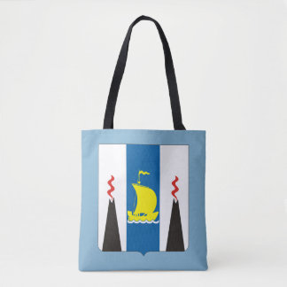 Coat of arms of Sakhalin oblast Tote Bag