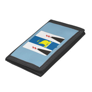 Coat of arms of Sakhalin oblast Tri-fold Wallet