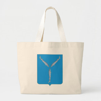 Coat_of_Arms_of_Saratov Large Tote Bag