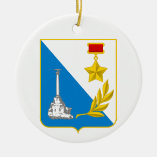 Coat of arms of Sevastopol Ceramic Ornament