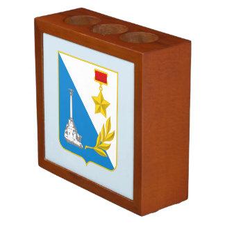 Coat of arms of Sevastopol Desk Organizer