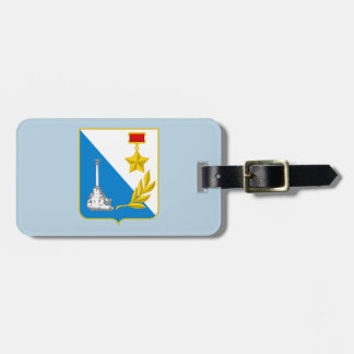Coat of arms of Sevastopol Luggage Tag
