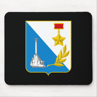 Coat of arms of Sevastopol Mouse Pad