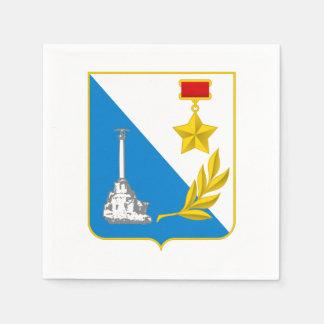 Coat of arms of Sevastopol Paper Napkin