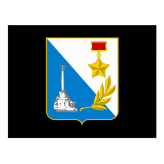 Coat of arms of Sevastopol Postcard