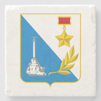 Coat of arms of Sevastopol Stone Coaster