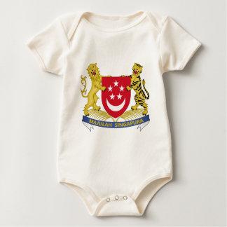 Coat of arms of Singapore 新加坡国徽 Emblem Baby Bodysuit