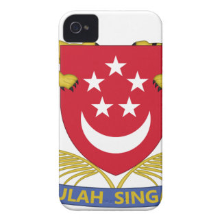 Coat of arms of Singapore 新加坡国徽 Emblem Case-Mate iPhone 4 Cases