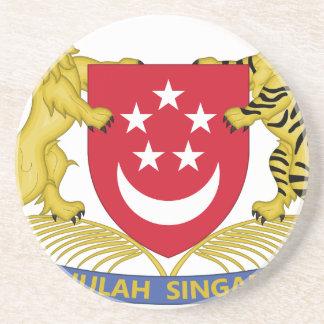Coat of arms of Singapore 新加坡国徽 Emblem Coaster