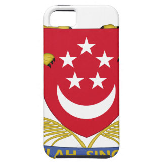 Coat of arms of Singapore 新加坡国徽 Emblem iPhone 5 Cases