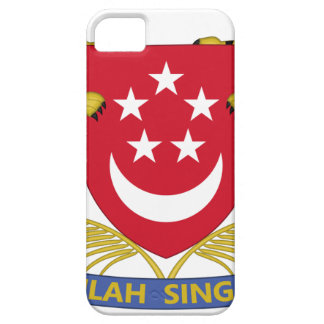 Coat of arms of Singapore 新加坡国徽 Emblem iPhone 5 Covers