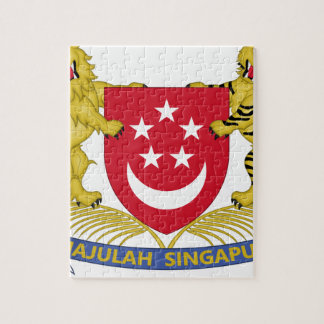 Coat of arms of Singapore 新加坡国徽 Emblem Jigsaw Puzzle