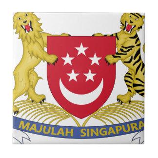 Coat of arms of Singapore 新加坡国徽 Emblem Tile