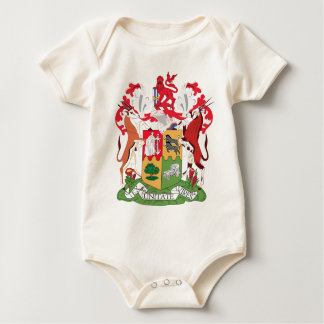 Coat_of_Arms_of_South_Africa_(1932-2000) Baby Bodysuit