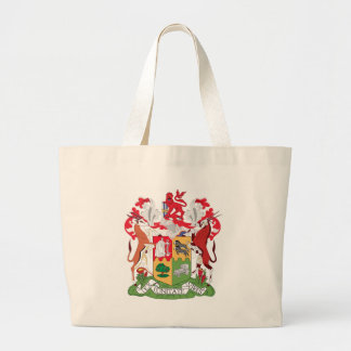 Coat_of_Arms_of_South_Africa_(1932-2000) Large Tote Bag