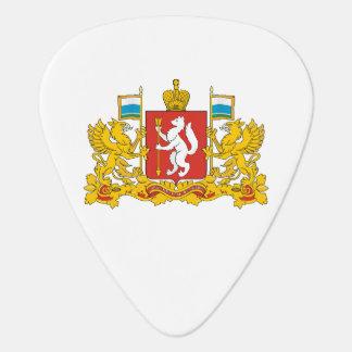 Coat of arms of Sverdlovsk oblast Guitar Pick