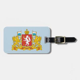 Coat of arms of Sverdlovsk oblast Luggage Tag