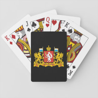Coat of arms of Sverdlovsk oblast Playing Cards